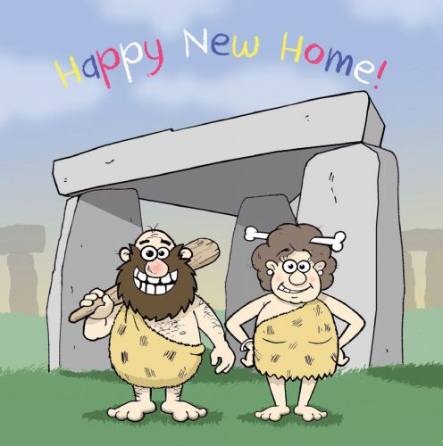 CAN67 – Funny New Home Card